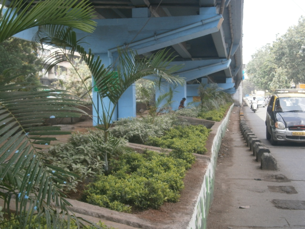 Under the Sion circle flyover